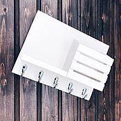 Для дома и интерьера handmade. Livemaster - original item The housekeeper is a wall mounted white buy. Handmade.
