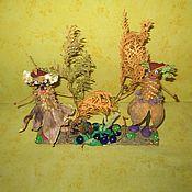 Куклы и игрушки ручной работы. Ярмарка Мастеров - ручная работа Кикиморы на болоте. Handmade.