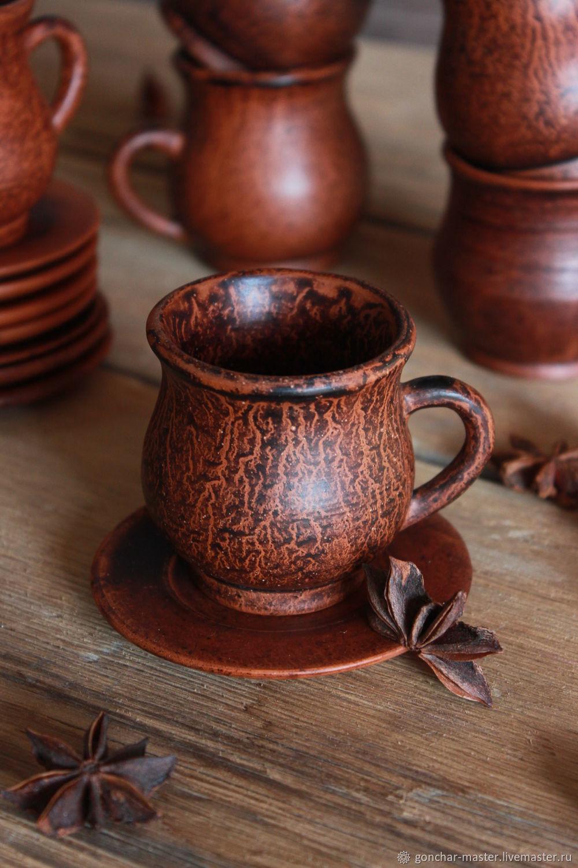 глиняные чашки для чая