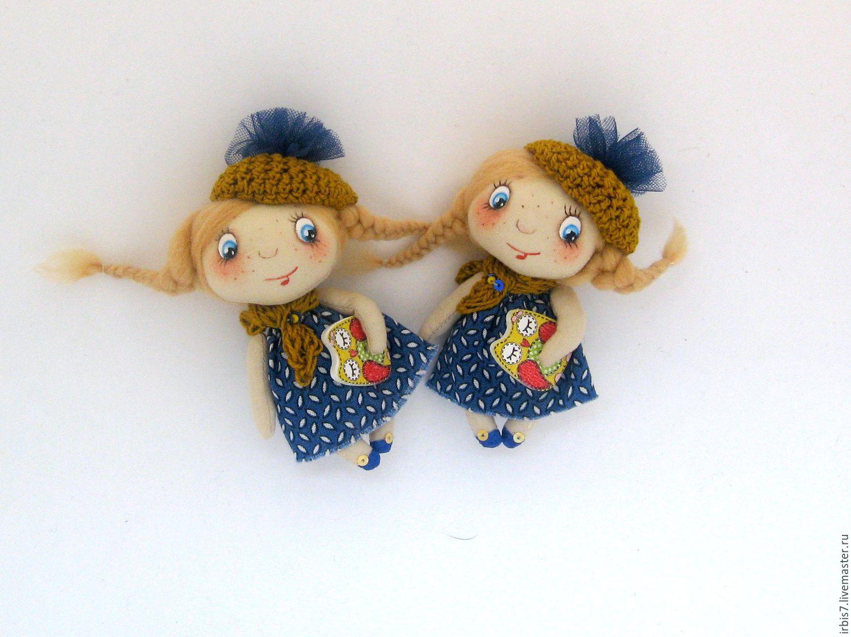 Куклы брошки своими руками