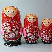 Русский стиль handmade. Livemaster - original item Matryoshka 10 local. Handmade.