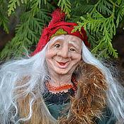 Портретная кукла ручной работы. Ярмарка Мастеров - ручная работа Бабуля  Ягуля. Handmade.