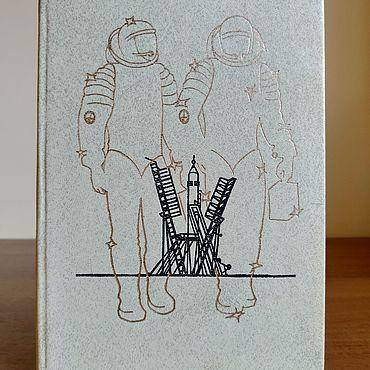 Винтаж ручной работы. Ярмарка Мастеров - ручная работа Он всех нас позвал в космос. 1986.. Handmade.