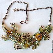 Украшения handmade. Livemaster - original item Necklace of stones and beads
