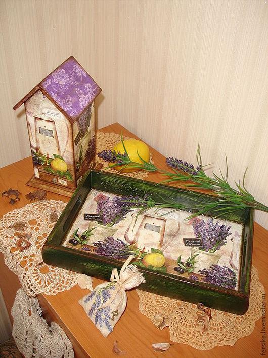 """Кухня ручной работы. Ярмарка Мастеров - ручная работа. Купить Чайный домик   """"Лаванда и Лимон"""". Handmade. Чайный домик, уют"""