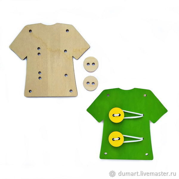 Рубашка с пуговицами, Бизиборды, Санкт-Петербург,  Фото №1