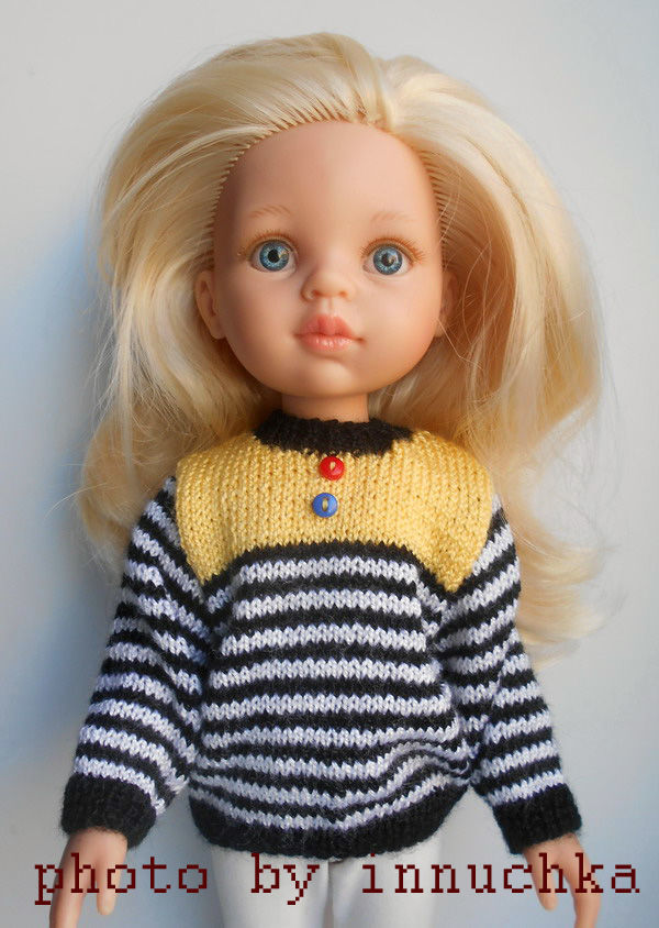 Свитера для подружек Паола Рейна, Одежда для кукол, Санкт-Петербург,  Фото №1