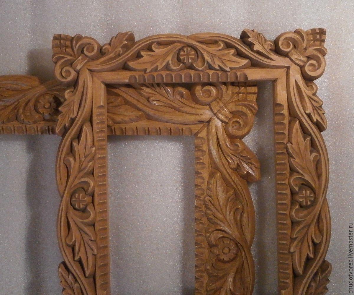 Резное зеркало из дерева своими руками 86