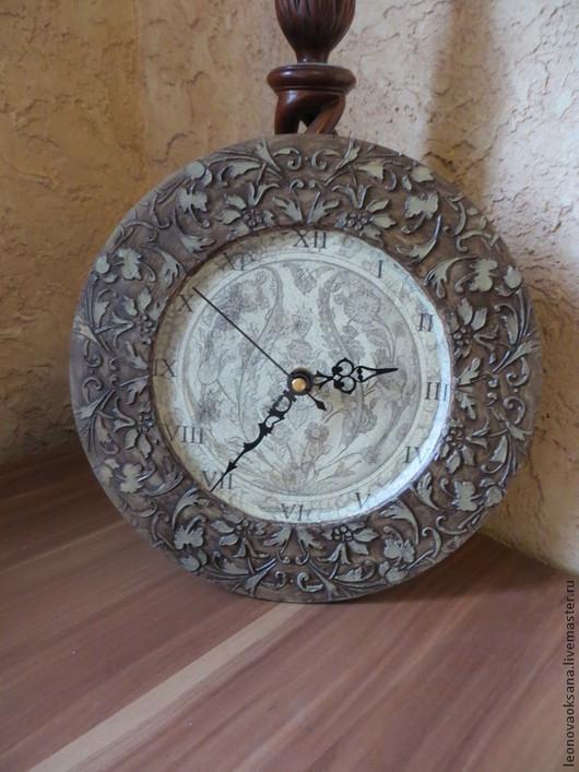 """Часы для дома ручной работы. Ярмарка Мастеров - ручная работа. Купить Часы """"Необычные"""". Handmade. Часы, подарок мужчине"""