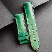 Украшения handmade. Livemaster - original item Calf leather watchband (06). Handmade.