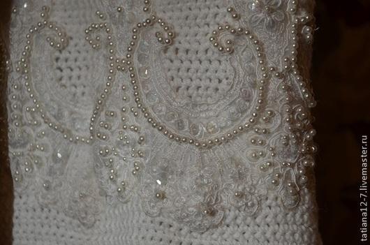 """Юбки ручной работы. Ярмарка Мастеров - ручная работа. Купить """"Sicilia"""". эксклюзивная юбка ручной работы. Handmade. Белый"""