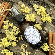 Косметика ручной работы handmade. Livemaster - original item Mix of natural hydrolates Immortelle and cinnamon. Handmade.