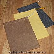 Материалы для творчества handmade. Livemaster - original item Linen sachets. Handmade.