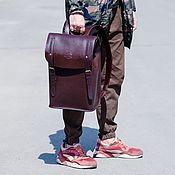 Сумки и аксессуары handmade. Livemaster - original item Portland leather city backpack. Handmade.