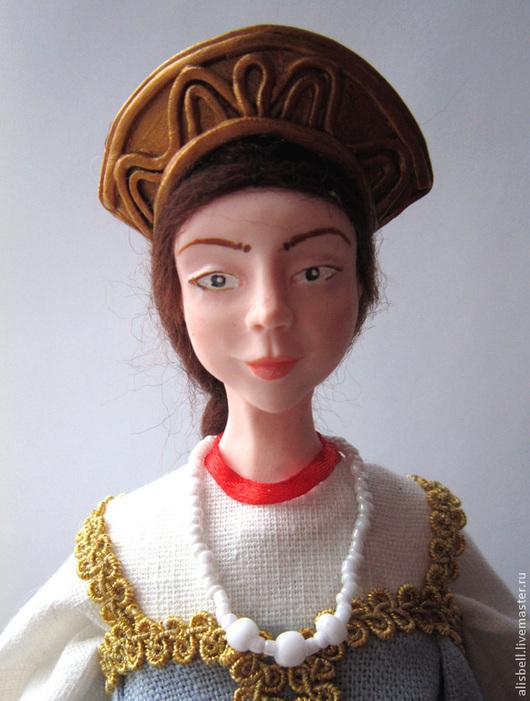 """Народные куклы ручной работы. Ярмарка Мастеров - ручная работа. Купить кукла интерьерная в русском стиле """"Вологодская красавица"""". Handmade."""