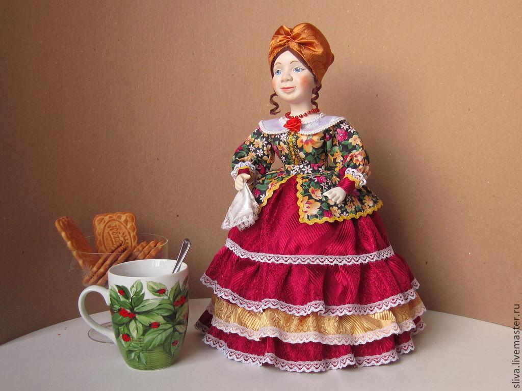 Кукла для чайника своими руками фото 365