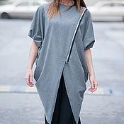 "Одежда handmade. Livemaster - original item Асимметричная туника в стиле ""Бохо"" -  TU0448PM. Handmade."