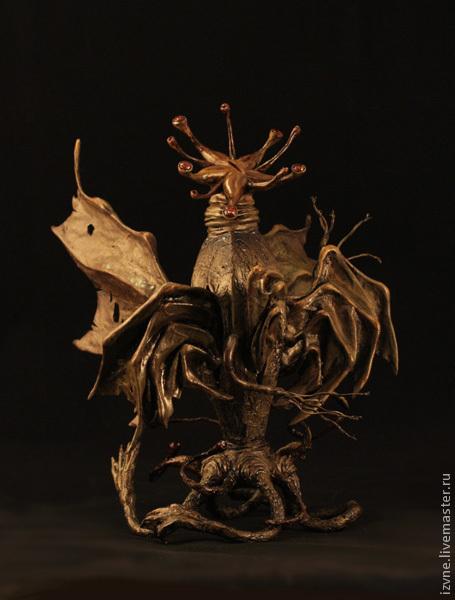 """Коллекционные куклы ручной работы. Ярмарка Мастеров - ручная работа. Купить """"The Elder Thing"""" (""""Старец""""), авторская кукла статик. Handmade."""