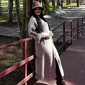 Одежда handmade. Livemaster - original item Coat Albion Misty handmade wool blend. Handmade.