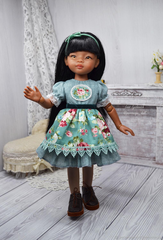Винтажное платье для Paola Reina, Одежда для кукол, Симферополь,  Фото №1