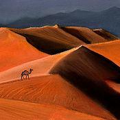 Картины и панно handmade. Livemaster - original item Desert. Handmade.