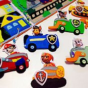 """Мягкие игрушки ручной работы. Ярмарка Мастеров - ручная работа Большой планшет из фетра """"Щенячий патруль"""". Handmade."""