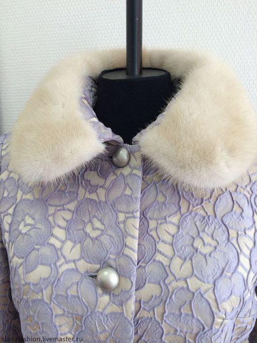 """Верхняя одежда ручной работы. Ярмарка Мастеров - ручная работа. Купить Теплое пальто с норкой """"Мечты Джульетты"""". Handmade."""