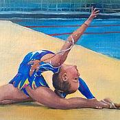 Картины и панно ручной работы. Ярмарка Мастеров - ручная работа О спорт.... Handmade.