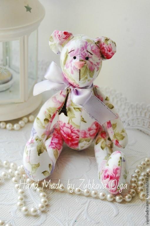 Куклы Тильды ручной работы. Ярмарка Мастеров - ручная работа. Купить Мишка Тильда в цветах. Handmade. Мишка, медведь