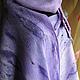 """Комплекты аксессуаров ручной работы. Ярмарка Мастеров - ручная работа. Купить Валяный комплект аксесуаров """"Сиреневое настроение"""". Handmade. Сиреневый"""