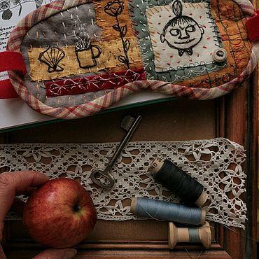 """Одежда ручной работы. Ярмарка Мастеров - ручная работа Маска для сна """"Спи, моя Крошка"""". Handmade."""