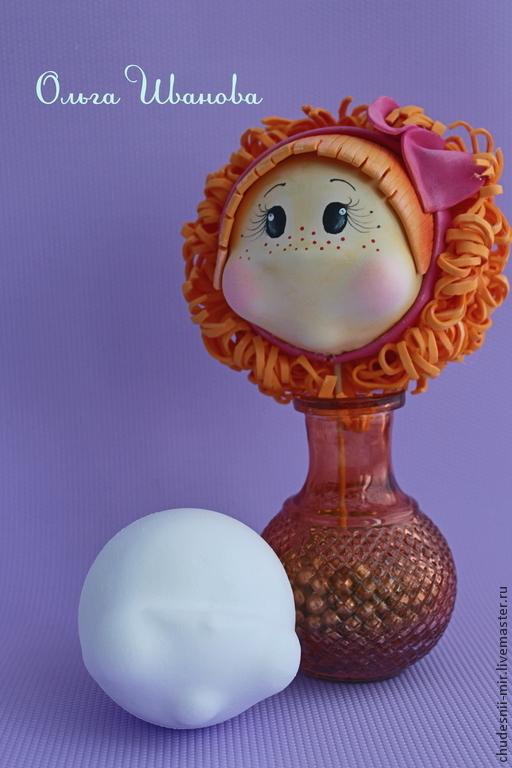 Куклы и игрушки ручной работы. Ярмарка Мастеров - ручная работа. Купить Шар-лицо. Handmade. Белый, поделочные материалы