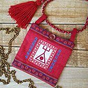 Русский стиль handmade. Livemaster - original item Dainty with the rune PURPOSEFULNESS. Handmade.