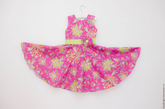 Одежда для девочек, ручной работы. Ярмарка Мастеров - ручная работа. Купить Нарядное платье для девочки малиновое. Handmade. Нарядное платье