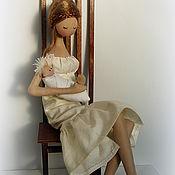 Куклы и игрушки handmade. Livemaster - original item My mom. Handmade.
