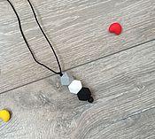 Работы для детей, ручной работы. Ярмарка Мастеров - ручная работа Минималистическая подвеска из пищевого силикона. Handmade.