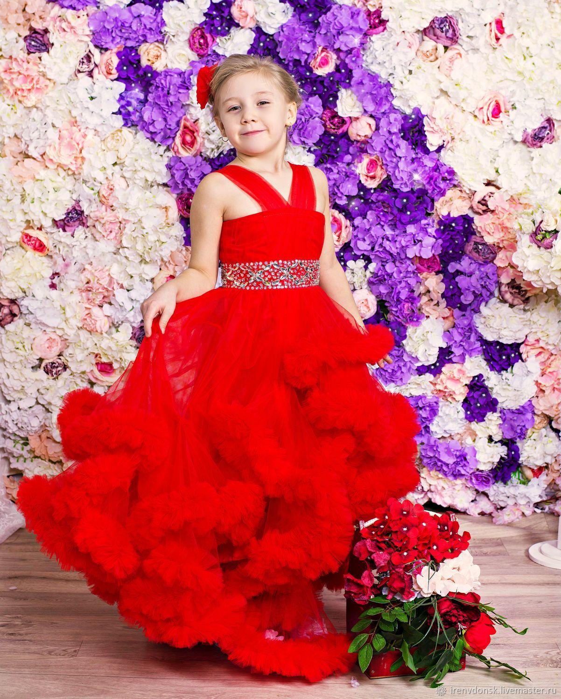 Платье детское-облако для девочки, Платья, Волгодонск,  Фото №1