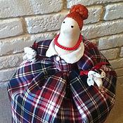 """Для дома и интерьера ручной работы. Ярмарка Мастеров - ручная работа Грелка на чайник """"Рыжая Шотландия"""". Handmade."""