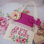 Подарки к праздникам ручной работы. Ярмарка Мастеров - ручная работа La vie en rose. Handmade.