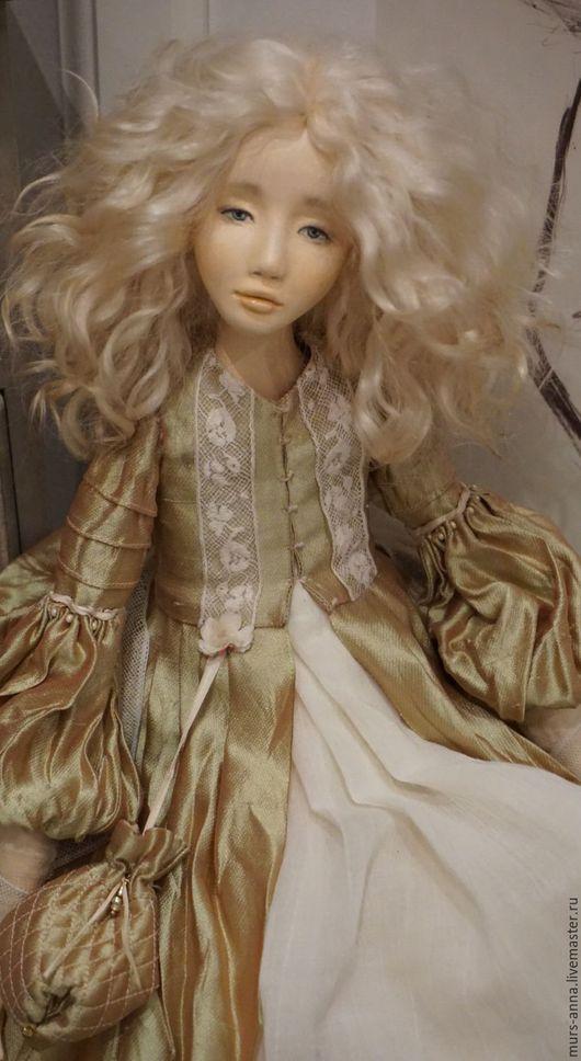 Коллекционные куклы ручной работы. Ярмарка Мастеров - ручная работа. Купить Коллекционная авторская кукла Илзе. Handmade. Салатовый, Ладолл
