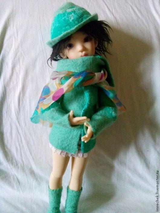 Одежда для кукол ручной работы. Ярмарка Мастеров - ручная работа. Купить Комплект Мята для кукол Kaye Wiggs бжд. Handmade.