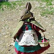 """Куклы и игрушки ручной работы. Ярмарка Мастеров - ручная работа Зайка """"Вишенка"""". Handmade."""