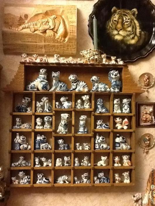 Мебель ручной работы. Ярмарка Мастеров - ручная работа. Купить домик для тигров. Handmade. Рыжий, массив дуба