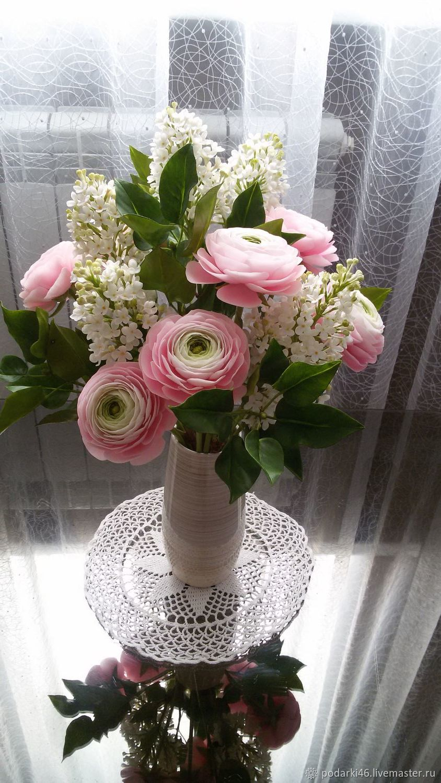 Букет цветов из полимерной глины, Композиции, Курск,  Фото №1