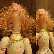 Куклы и игрушки ручной работы. Ярмарка Мастеров - ручная работа Фея - укротительница божьих коровок в стиле Тильда. Handmade.