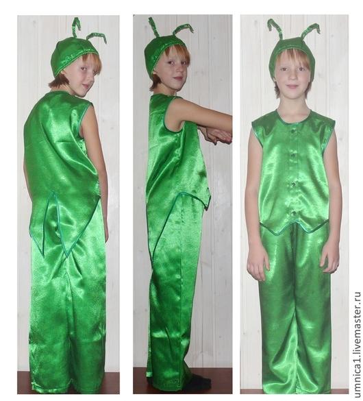 Детские карнавальные костюмы ручной работы. Ярмарка Мастеров - ручная работа. Купить Костюм для утренника, карнавальный костюм: Кузнечик, кузнец. Handmade.