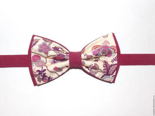 Галстуки, бабочки ручной работы. Ярмарка Мастеров - ручная работа. Купить Галстук - бабочка. Handmade. Орнамент, галстук, бабочка