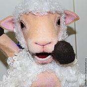 Куклы и игрушки ручной работы. Ярмарка Мастеров - ручная работа Овечка для кукольного театра. Handmade.