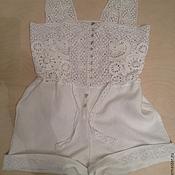 Одежда handmade. Livemaster - original item Summer Romper