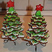 Подарки к праздникам ручной работы. Ярмарка Мастеров - ручная работа Пряничная елка, съедобная. Handmade.